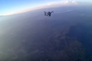 THE SKYDIVING